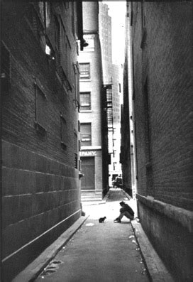 Henri Cartier Bresson, Downtown, New York, USA, 1947 | I