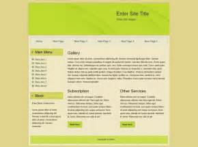 what is template in html html templates