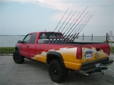 boating report ta bay pickup truck fishing rod holder images fishing and