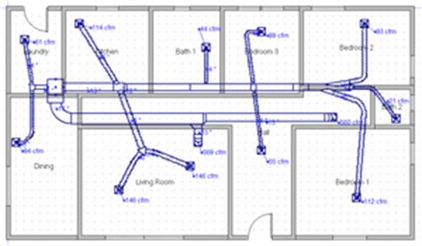 home hvac duct design right 2line duct cad quality duct design