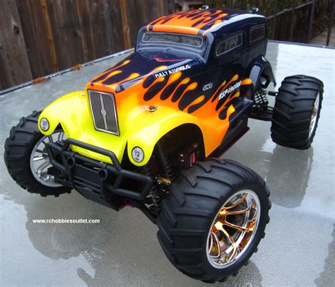nitro gas rc trucks rc nitro gas truck hsp 1 10 car 4wd rtr 88046 ebay