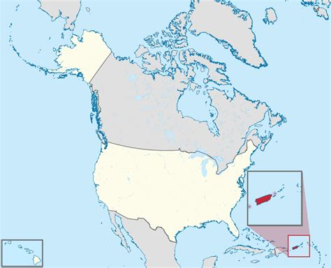 map of the united states and puerto rico what is puerto rico is it part of the united states