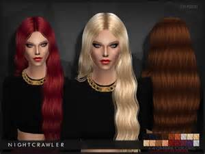 sims 4 hair the sims resource nightcrawler timber hair sims 4 downloads