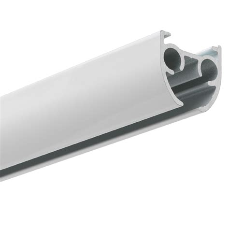 roller curtain track silent gliss 3840 curtain track with roller gliders white