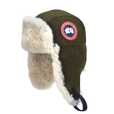 Pilot Hat 1 canada goose merino wool shearling pilot hat at moosejaw