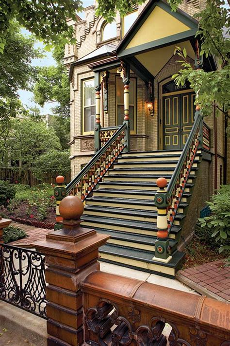 rules  victorian polychrome paint schemes  house   house