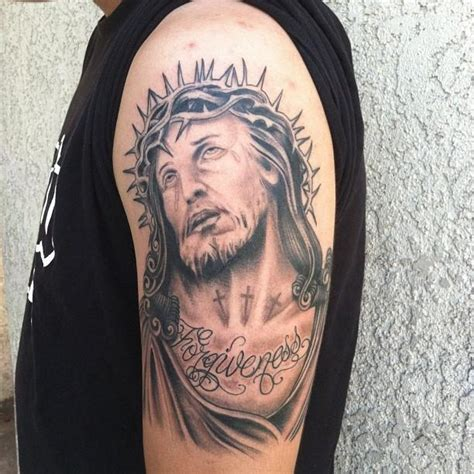 tattoo de jesus cristo em 3d 70 tatuagens de jesus cristo impressionantes