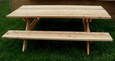 Handmade Picnic Tables For Sale - handcrafted heavy duty picnic tables wishing garden