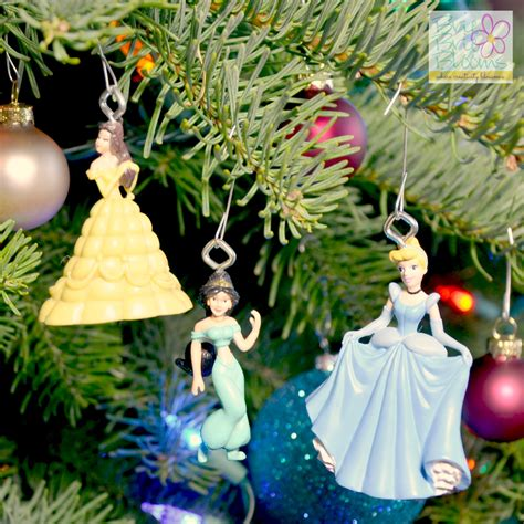 diy disney princess ornaments brie brie blooms
