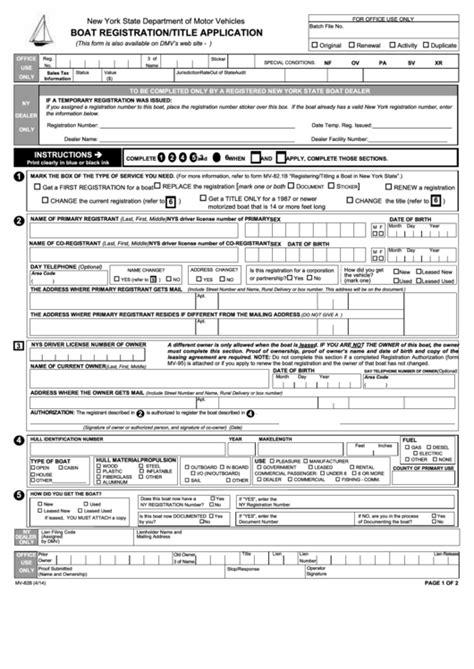 nys dmv boat registration transfer top 7 nys dmv registration form templates free to download