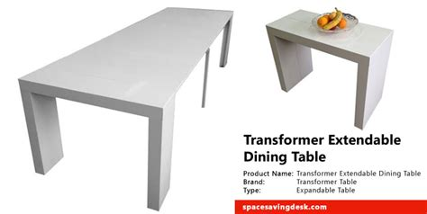 Home Decorators Collection Furniture transformer extendable dining table review space saving desk