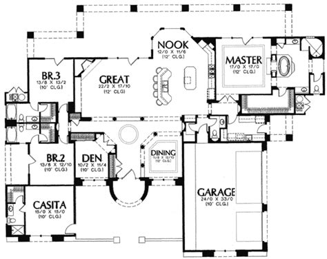 casita home plans casitas house plans house design plans
