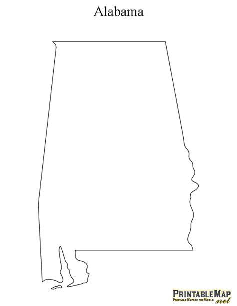 alabama map outline printable map of alabama state map of alabama