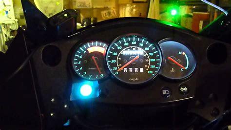 klr 650 led lights klr led dash light mod 002 youtube
