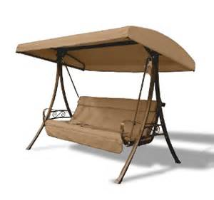 home depot hton bay charm 3 seat s05294 canopy