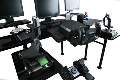 Roccaforte Gaming Desk Grapht Roccaforte The Desk For Gamers