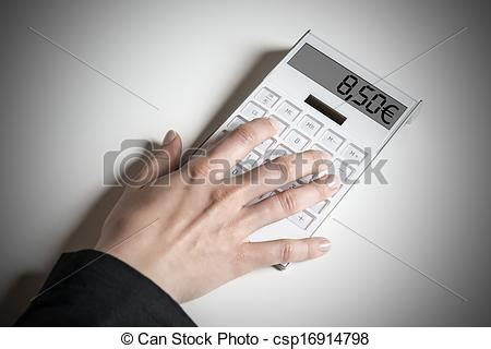 german wage calculator stock photographs of calcluator indicating 8 50