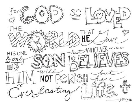 7 best images of john 3 16 coloring printables john 3 16