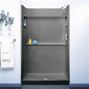 swanstone sa 3448 042 veritek shower alcove walls gray