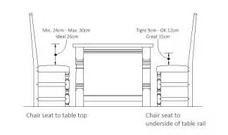 dining room table dimensions height images