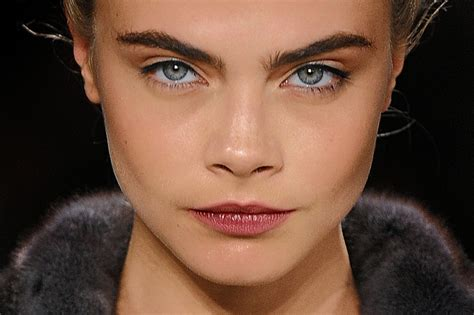 eyebrow trends for mid age women big bold eyebrows are a trend for women and men wsj