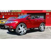Yes This Is A Nissan Murano Convertible On 34 Inch Wheels