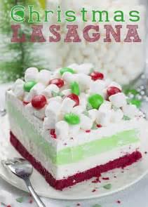 christmas lasagna omg chocolate desserts