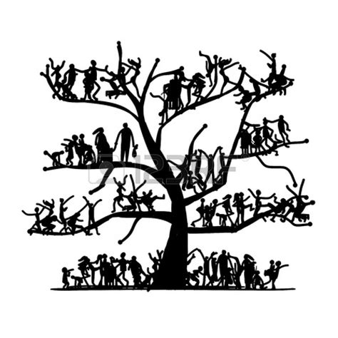 printable family tree black and white family tree black and white clipart panda free clipart