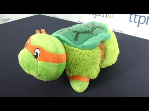 teenage mutant ninja turtle dream light pillow pets dream lites teenage mutant ninja turtles