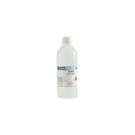 Chloride Standard Solution 1198970500 calibration solution for seawater salinty readings 100 nacl hannanorden