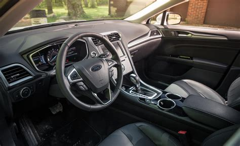Ford Fusion 2014 Interior by Car And Driver