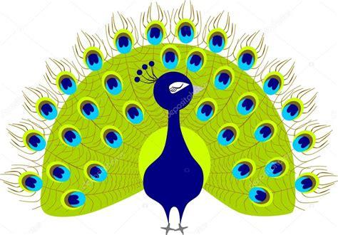 imagenes de los vectores dibujos animados de pavo real vector de stock