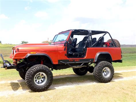 1983 Jeep Wrangler Scrambler Lifted Na Prodej