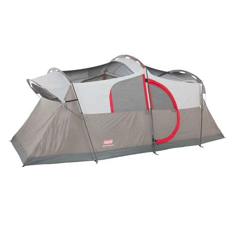 coleman 2 room tent coleman weathermaster 10 person family cing tent w built in light fan 2000013350