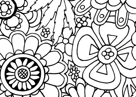 hippie coloring pages for adults coloring pages