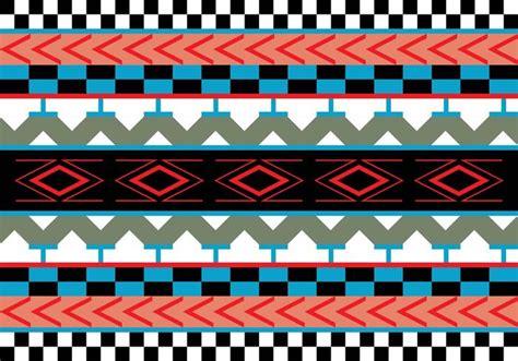 aztec patterns free aztec pattern vector illustration download free vector