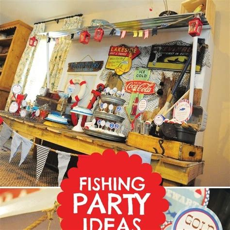 fishing themed decorations fishing themed birthday spaceships and laser beams