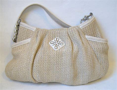 Promo Murah Simply Shoulder Bag Miniso simply vera wang hobo purse beige white knit shoulder bag handbag tote lined handbags purses