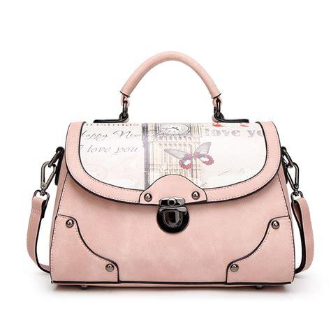 The Bag Forum New Design by New Design Printed Leather Bag Vintage Handbag Womens