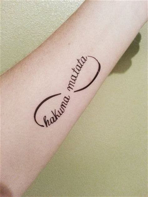 henna tattoo tumblr infinity hakuna matata king infinity temporary by