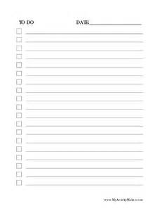 6 best images of professional to do list printable
