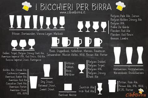 bicchieri degustazione birra il bicchiere giusto cibo e birra