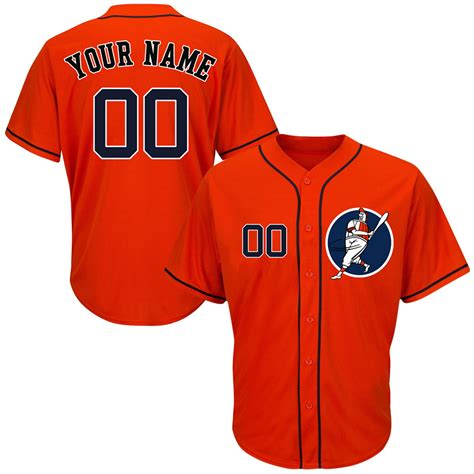design jersey custom new astros orange men s customized cool base new design