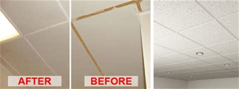 cleaning ceiling tiles a all clean acoustic ceiling tile cleaning ultrasonic