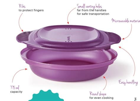 Tupperware Delight tupperware micro healthy delight microwave dish the