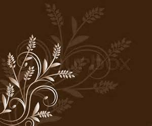 brown floral background stock photo colourbox