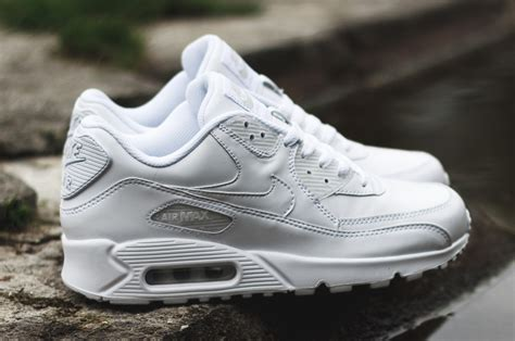 Nike Airmax White nike air max 90 leather quot white quot sbd