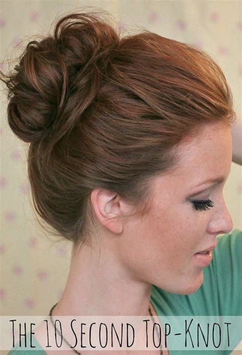 Second Top 10 second top knot easy back to school hairstyles to let