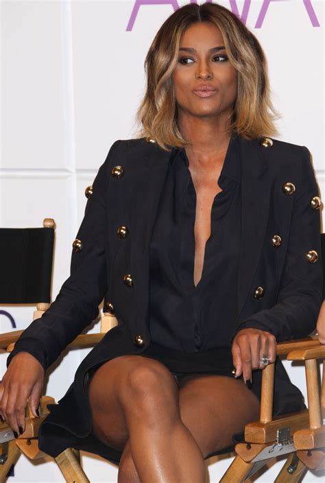 Ciara S Slight Pantie Upskirt