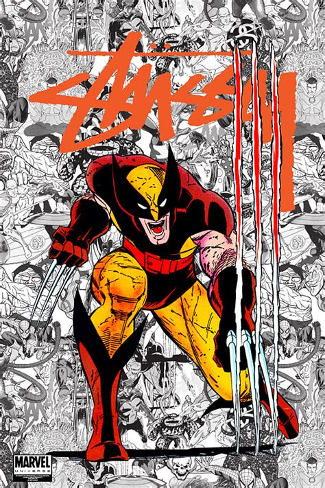 Plakat Hype by Stussy X Marvel Comics Series 1 Posters Hypebeast